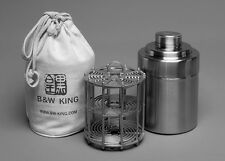 B&W KING 4X5' Format Stainless Steel Film Developing Tank (Install 10 film)