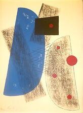 Berto Lardera Lithographie originale Astra Egarés Italie Paris 1974 P 803