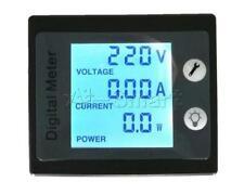 Digital LCD AC 80-260V 100A Volt Watt Power Meter Ammeter Voltmeter 110V 220V