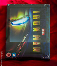 Marvel Iron Man Zavvi Exclusive Lenticular Limited Steelbook Edition Sold Out