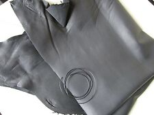 Pocher 1/8 Ultra Thin Black Leather With Piping, Rolls Royce Mercedes Alfa