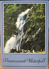 Irish Postcard POWERSCOURT WATERFALL Estate Wicklow Ireland John Hinde 2/397-B