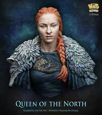 Nutsplanet Queen of the North Unpainted bust 1/10th scale kit