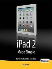 iPad 2 Made Simple 2nd Edition, Ritchie, Rene, Made Simple Learning, MSL, Mazo,