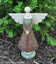 ANGEL w/Wings Statue/Figurine*Primitive/French Country Garden Room Decor