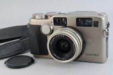 【Excellent++++ 】CONTAX G2 w/Data back GD-2/ 28mm f/ 2.8 T* Lens from Japan 503