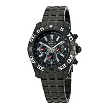 Invicta Signature II Chronograph Black Dial Black Ion-Plated Mens Watch 7304