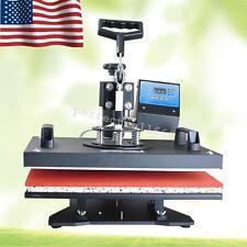 8in1 Heat Press Machine Digital T-Shirt Mug Hat Plate Transfer Sublimation