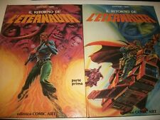 OESTERHELD/LOPEZ:IL RITORNO DE L'ETERNAUTA.1+2 VL.COMIC ART DELL'YELLOW KID 1980