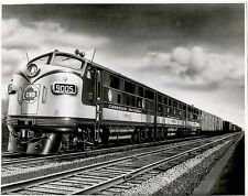 6AA415 RP 1940s? CN CANADIAN NATIONAL RAILROAD LOCO 9005 9006 9007 FAST FREIGHT