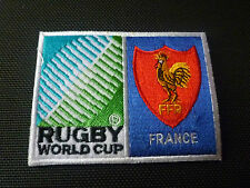 New Rugby World Cup 2015 Badge - Sew on Patch - France 10cm x 7.5cm