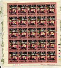 Guyana 1984 Scouts Orchids Michel 1121 Complete Sheet of 25 With Varieties
