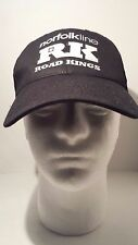 Black Trucker Baseball Cap Hat Norfolkline One Size
