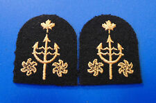 CANADA Forces Canadian Navy Oceanographic Operator qualificaion Trade badges