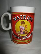 Watkins Baking Powder Soup Bowl Mug Cup Collectibles 1992 Vintage Advertising