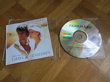 PATRICIA KAAS And Now Ladies And Gentleman RARE FRANCE Promo acetate CD single
