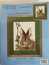Candamar Designs COTTONTAIL RABBIT Embroidery Kit 80319 New 1997