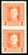 ÖSTERREICH FELDPOST 1917 54Ums ** POSTFRISCH TADELLOS 150€+++(D4272