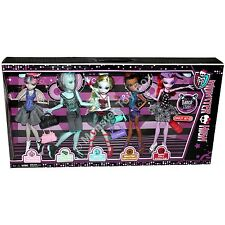 Dance Class Gil Rochelle Lagoona Robecca Operetta Monster High Dolls