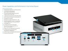 Intel NUC Kit NUC5i3RYH 5th Gen Core i 3 5010u with 4 GB Ram 1TB HDD wifi BT