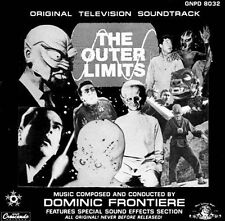 DOMINIC FRONTIERE - The Outer Limits [Original 1963 TV... CD SEALED/ NEW RARE