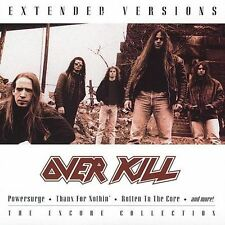 Extended Versions by Overkill (Cassette, Jul-2002, BMG Special Products) NEW