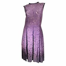 $2.8K ONE of a KIND PHENOMENAL GORGE 2DIE4 ICONIC LANVIN 2006 LACE Plum dress