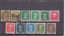 Germany 351///////361 used & Mint Hinged