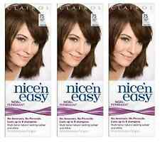 Clairol Nice N Easy Loving Care Hair Color, #75 Light Ash Brown (3 Pack)