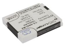 Li-ion Battery for CANONDigital NB-6L PowerShot SD980 IS IXUS 95 IS NEW
