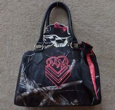 "Metal Mulisha Women's Purse ""Shadowy"" -- Black"