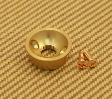 AP-5270-012 Electrosocket Round Satin Gold Jack Plate For Fender Tele