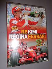 DVD RE KIMI REGINA FERRARI AUTOSPRINT DOPPIO TITOLO MONDIALE 2007 RAIKKONEN