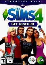 THE SIMS 4 GET TOGETHER EXPANSION PACK ( PC/MAC ) BRAND NEW. FACTORY SEALED