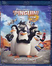 Blu-ray DreamWorks «I PINGUINI DI MADAGASCAR ♥ IL FILM CARINO E COCCOLOSO» 2014