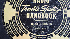 'Radio Trouble-Shooter's handbook, 1st edit A  GHIRARDI (Pub NY) 1939'  excell