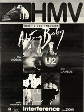 17/10/92PGN44 U2 : ACHTUNG BABY ADVERT 15X11""