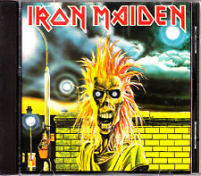 CD IRON MAIDEN s/t ITALY rare 1980 FAME EMI HEAVY METAL