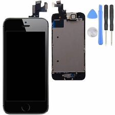 Black LCD Lens Touch Screen Display Digitizer Assembly for iPhone 5S + Tool Kit