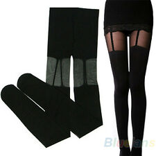 Sexy Women Stretchy Stockings Black Leggings Pants Socks Garters Tight Alluring