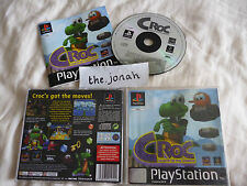 Croc Legend of the Gobbos PS1 (COMPLETE) black label platform Sony PlayStation