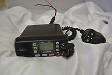 Uniden UM415 Oceanus D VHF Marine Radio: DSC, Submersible, Mic Control USED