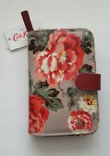Cath Kidston Winter Rose Floded Zip Wallet New With Tag