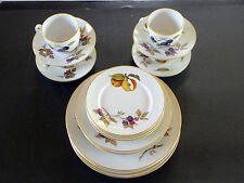 Evesham Gold by Royal Worcester ~ England ~ 20 Piece Set ~ Dinner for Four