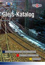 Tillig Gleiskatalog  , TT/HO/LUNA-Straßenbahngleis ,  neu