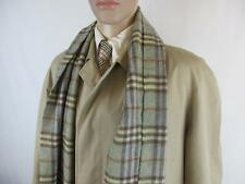 "Mens Genuine Burberry Coat & Burberry Scarf  Size UK 46r"" Chest  Code EA3243"