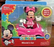 Fisher Price Mickey Mouse Clubhouse Minnie Mouse Minnie's car *new*