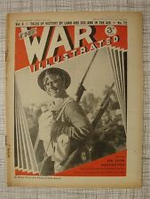 The War Illustrated #72 (Koritza Greece, Blitz, Bardia, Manchester, London, WW2)