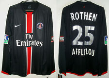 Maillot PSG domicile 2006 #25 ROTHEN Nike Taille M Neuf