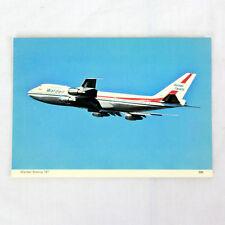 Wardair Canada Airlines - Boeing 747 - Avion Carte Postale - Bonne Qualité